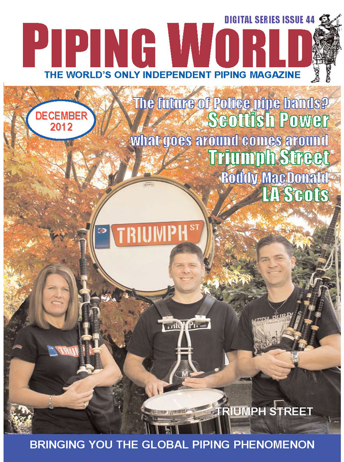 Piping World Magazine Cover